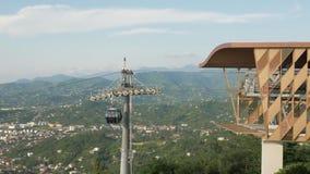 Привяжите веревочку в горах, Батуми, Georgia видеоматериал