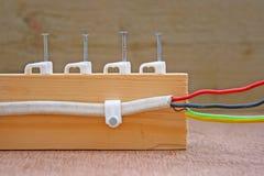 привяжите электрическое Стоковое фото RF