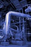 привязывает тубопровод оборудования Стоковая Фотография RF