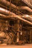 привязывает тубопровод оборудования Стоковые Фотографии RF