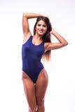 Привлекательная девушка в купальнике стоковые изображения