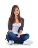 привлекательная девушка подростковая Стоковое Изображение