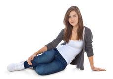 привлекательная девушка подростковая Стоковая Фотография RF