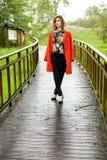 привлекательная женщина природы Стоковая Фотография RF