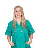 Привлекательная медицинская девушка Стоковые Изображения