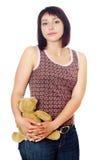 Привлекательная молодая женщина Стоковые Фото