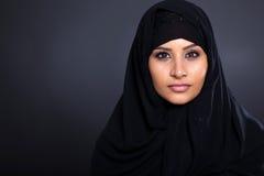 Мусульманская женщина стоковое изображение
