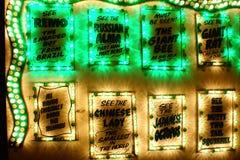 Привлекательности ярмарочной площади Стоковое фото RF
