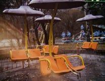 Привлекательность в парке Стоковые Фото