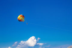 Привлекательность парашюта Стоковое фото RF