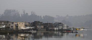 Привлекательно старомодный гавань Стоковое Изображение RF