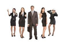 привлекательные бизнесмены молодые Стоковое Изображение