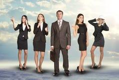 привлекательные бизнесмены молодые Стоковое Фото