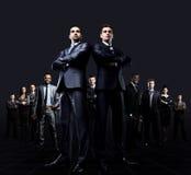 Привлекательные бизнесмены Стоковые Фото