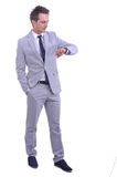 привлекательные детеныши портрета бизнесмена Стоковая Фотография RF