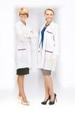 Привлекательные женские доктора Стоковые Изображения RF
