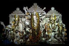 Привлекательные идолы Durga Puja, Kolkata, Стоковые Фото