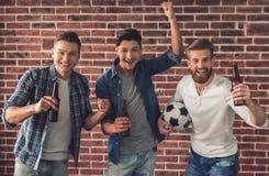 Привлекательные молодые человеки Стоковая Фотография