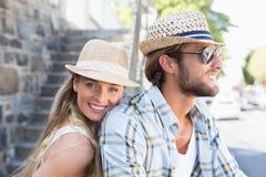 Привлекательные пары тратя время совместно Стоковые Фото