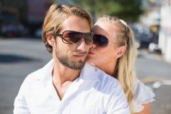 Привлекательные пары тратя время совместно Стоковое Фото