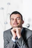 Привлекательный бизнесмен Стоковое Изображение RF