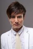 Привлекательный молодой азиатский парень стоковая фотография