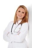 Привлекательный молодой студент-медик Стоковые Изображения
