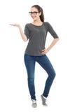 Привлекательный показывать женщины Стоковая Фотография RF