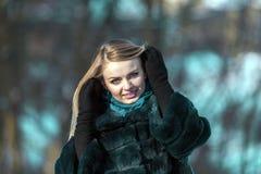 привлекательный портрет девушки Стоковые Изображения