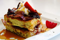 Привлекательный waffle Стоковые Изображения