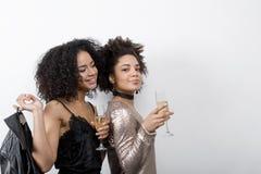 2 привлекательных женских друз Стоковое Фото
