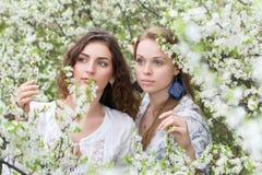 2 привлекательных женщины Стоковые Фотографии RF