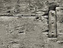 пригвождает старую древесину Стоковая Фотография