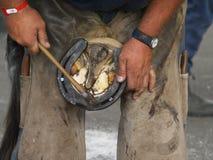 пригвождать ботинок Стоковые Фотографии RF