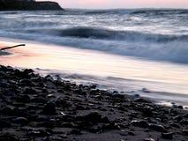 приглаживайте волны стоковая фотография rf