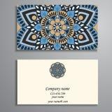 Приглашение, визитная карточка или знамя с шаблоном текста кругло бесплатная иллюстрация