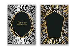 Приглашение карты элиты свадьбы захват Абстрактная текстура мрамора предпосылка идет больше моего портфолио картины видит для тог бесплатная иллюстрация