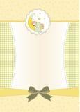 Приглашение ливня младенца Стоковое Изображение RF