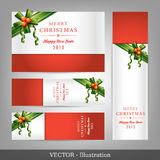 Приглашение на рождество и Новый Год. Стоковое Изображение