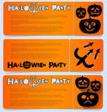 Приглашение рогульки отпраздновать хеллоуин Горизонтальное расположение Партия в клубе, кафе или фестивале Стоковая Фотография RF