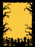 Приглашение Halloween иллюстрация штока