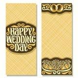 Приглашения вектора для Wedding Стоковая Фотография RF
