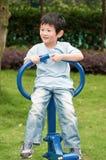 пригодность оборудования мальчика Стоковые Изображения RF