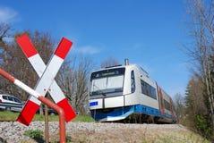 пригородный поезд Стоковые Изображения RF