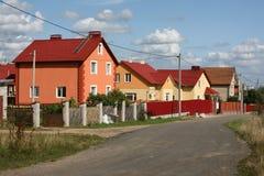 пригород города Стоковое Изображение RF