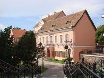 Пригород троицы в Минске Беларуси стоковое изображение rf