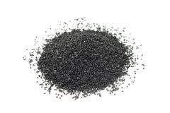 Пригорошня мелкого угля стоковые фото