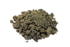 пригорошня почвы глины стоковое фото