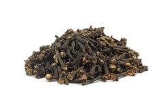 Пригорошня пряного гвоздичного дерева Стоковые Фото