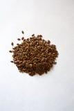 Пригорошня льняного семени стоковое фото